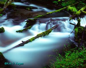 Little Zig Zag River Cascade