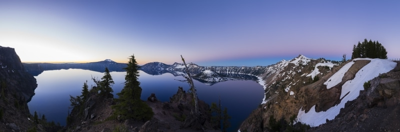 Blue Hour at Crater Lake National Park